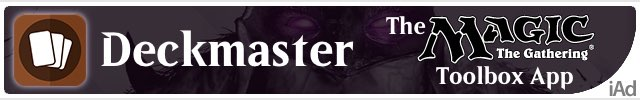 Deckmaster — The Magic: the Gathering Toolbox App